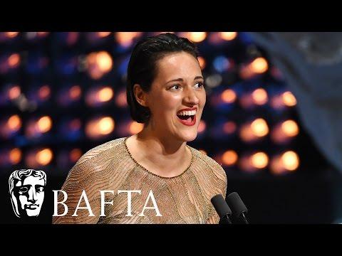 Phoebe WallerBridge wins Female Performance in a Comedy  BAFTA TV Awards 2017