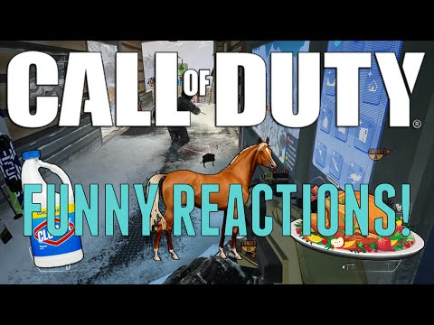 Call Of Duty - Funny Reactions! (Game Chat And Death Reactions)