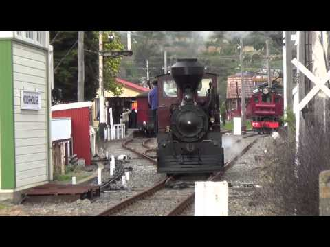 Ferrymead steam and electric running day part 1 (HD)