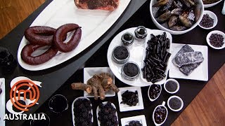 Black Food Pantry Immunity Challenge | MasterChef Australia | MasterChef World