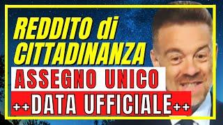 [INPS] REDDITO CITTADINANZA: DATA UFFICIALE PAGAMENTO ASSEGNO PONTE (ASSEGNO UNICO 2021)