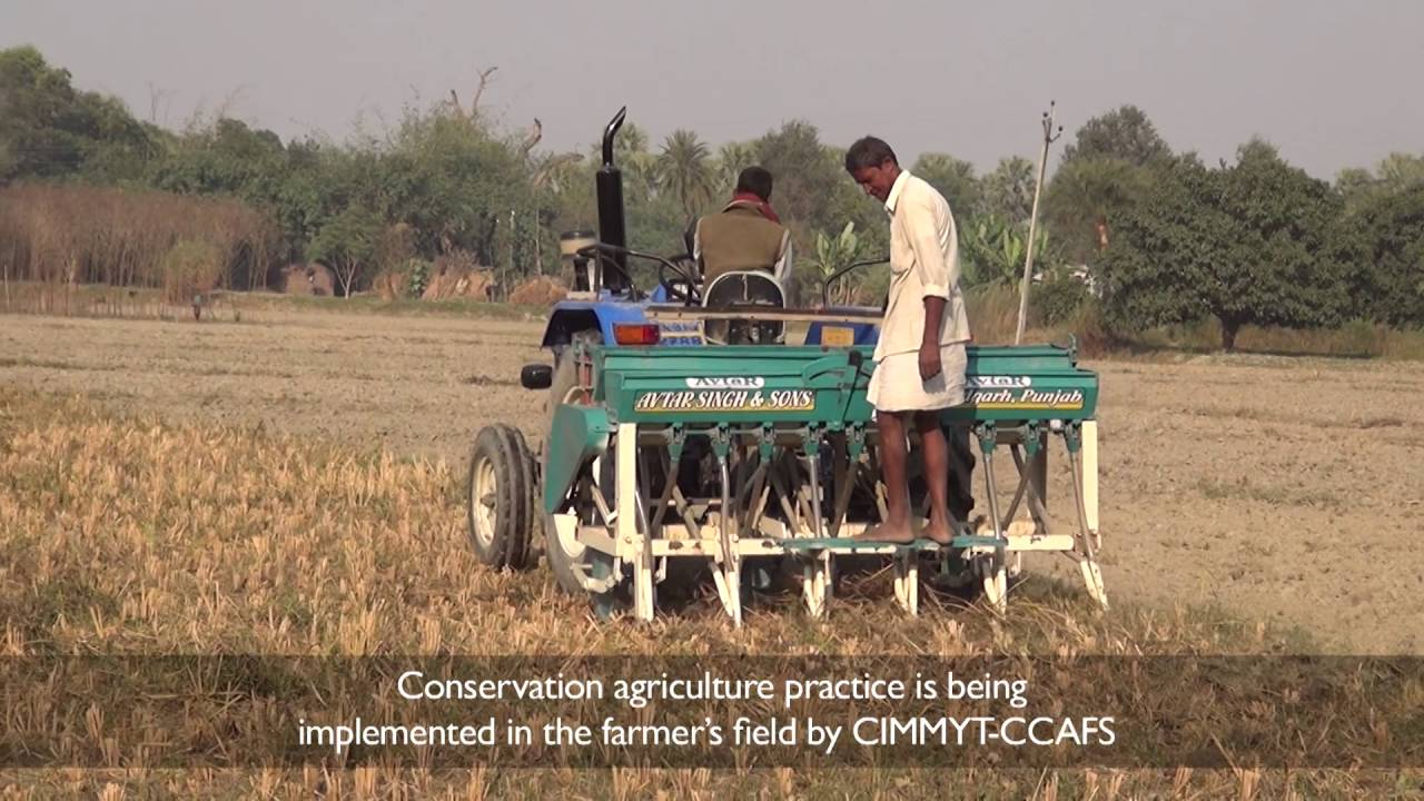 Residue management using Happy Seeder technology