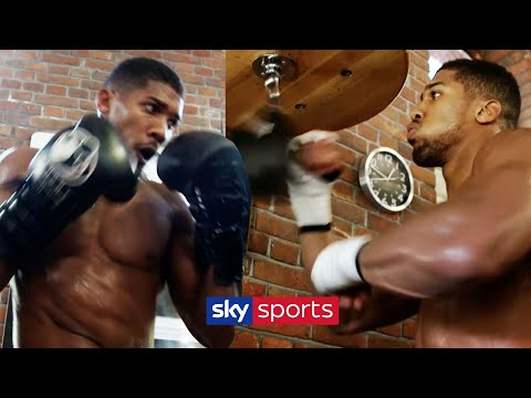 REVISITED! Anthony Joshua's Training Camp Before His First World Title Fight 💪| Behind The Ropes