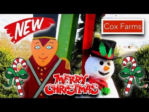 😁   Cox Farms Christmas  Corner Market - 2017  (NEW)  ✅