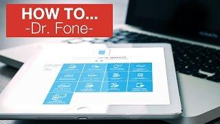 ALLE FEATURES von Dr.Fone erklärt - iPhone DATEN WIEDERHERSTELLEN/REPARIEREN