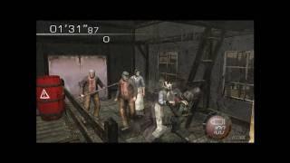 Resident Evil 4 PC Classic Camera Angles - Mercenaries -  Head Cuts