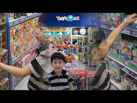 Toys R Us Toy Haul + Stikbot Hunting, Lost Kitties Toy Shopping
