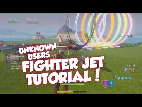Fortnite Fighter Jet Tutorial