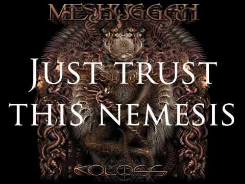 Meshuggah - Demiurge (Lyrics On Screen)