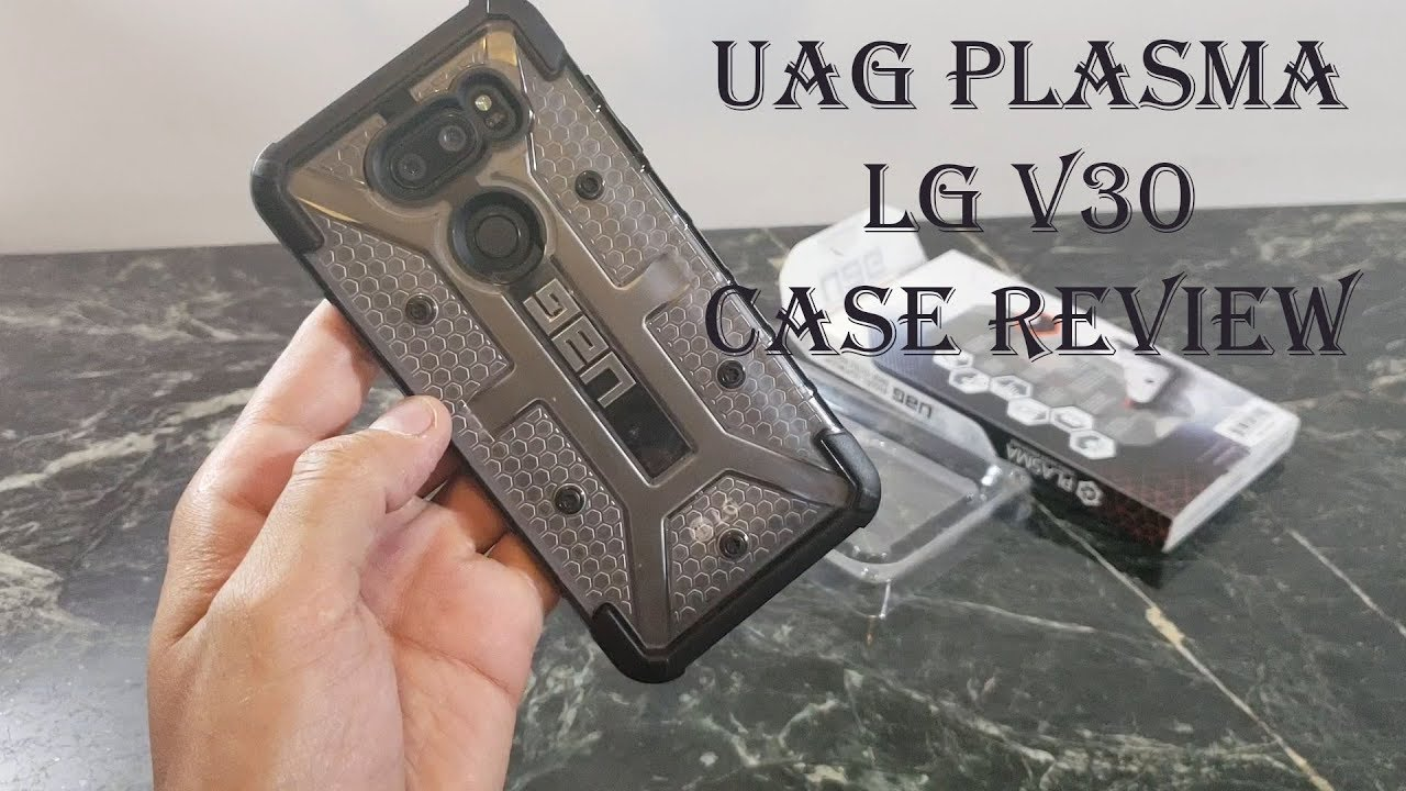 on sale bbf3c bbbbb UAG Plasma Ice Case Review : LG V30