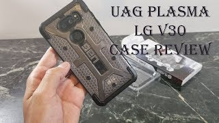 UAG Plasma Ice Case Review : LG V30