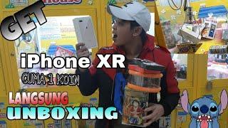 Awalnya seneng banget dapet iphone XR di clawmachine!!!PAS di unboxing ternyata...???