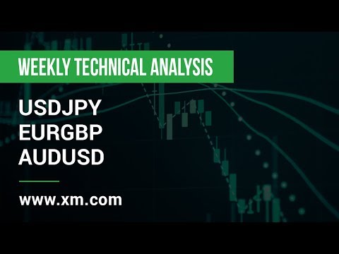 Weekly Technical Analysis: 06/05/2019 - USDJPY, EURGBP, AUDUSD