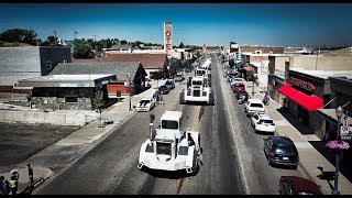 BIG BUD Tractors Roar Down Shelby Montana Parade - Welker Farms Inc