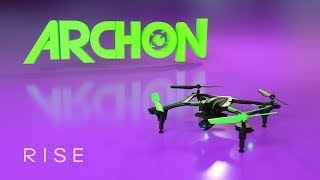 Load Video 1:  RISE Archon 370mm FPV GPS Drone : Spotlight