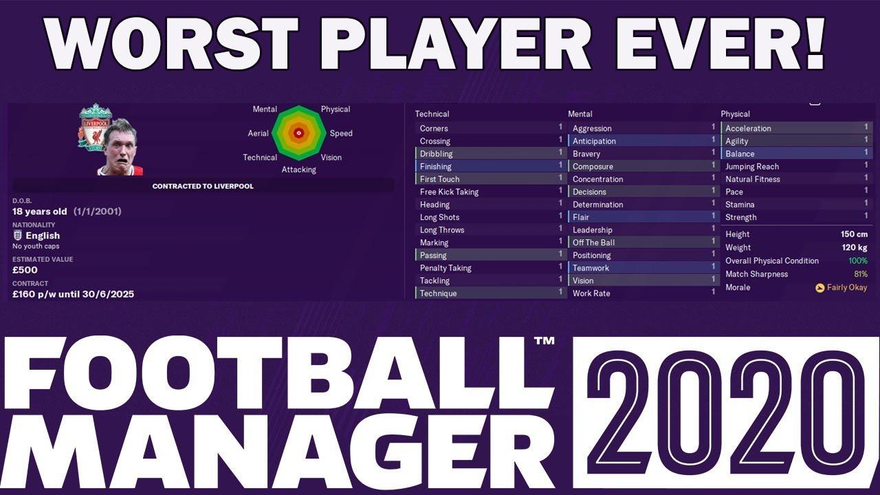 Top 10 Worst Football Players 2020