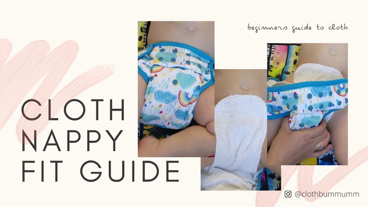 How to fit a cloth nappy