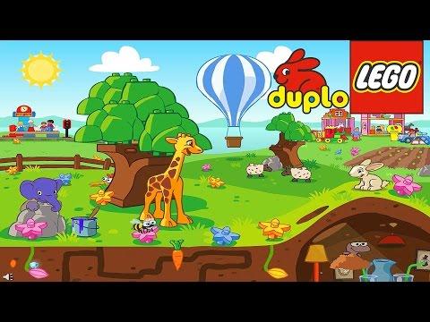 ЛЕГО Дупло Играем в прятки читаем Сказки для детей игра на Русском языке Lego duplo мульфильм