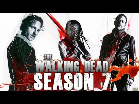 the walking dead season 7 second half new teaser trailer character blood portraits youtube. Black Bedroom Furniture Sets. Home Design Ideas