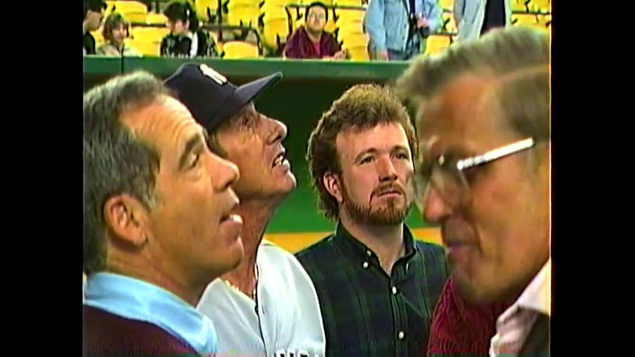 Yankees at Expos rough footage and scenes  4-2-88