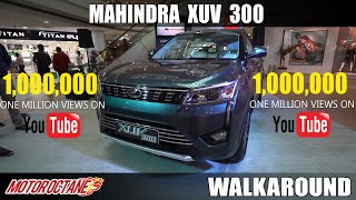 Mahindra XUV300 Walkaround Review | Hindi | MotorOctane