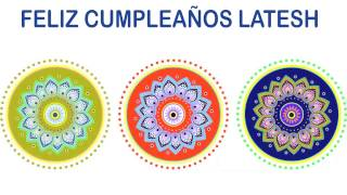Latesh   Indian Designs - Happy Birthday