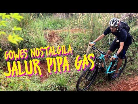 Gowes Nostalgila Jalur Pipa Gas - JPG Bike Park #MantabJiwa [ENG SUB]