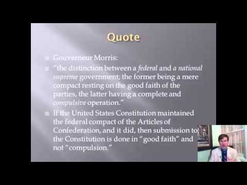 Constitutional History Lecture 7: The Philadelphia Convention