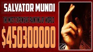 Gambar cover SALVATOR MUNDI    The most expensive painting of World
