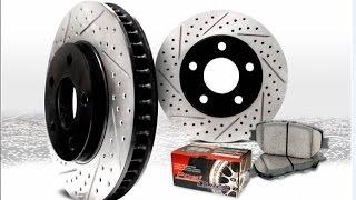 Замена передних тормозных дисков и колодок на Toyota Corsa