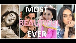 Top 10 Most Beautiful Bollywood Actresses EVER!
