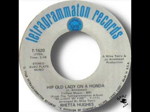 Rhetta Hughes   Hip Old Lady On A Honda