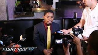 Shawn Porter on problems Broner presents, sparring Pacquiao, Lebron invited to fight- Full Scrum