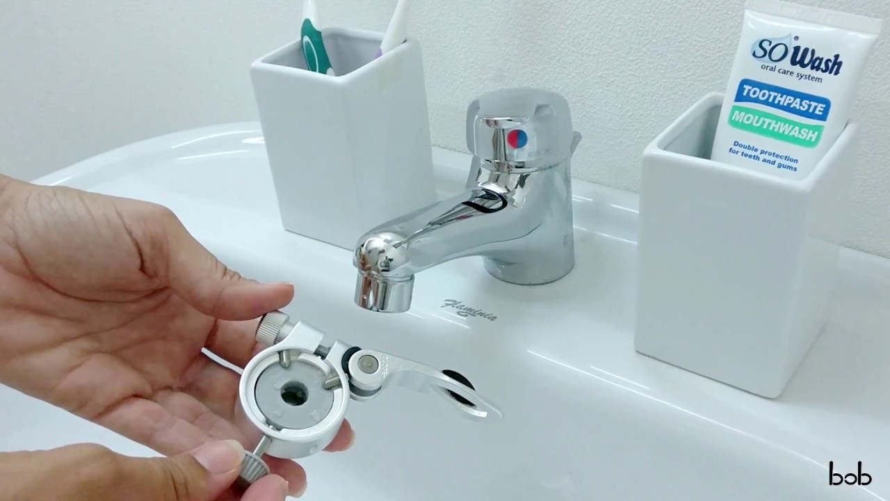 Universal quick adapter Addy - for BOB anal washer - YouTube