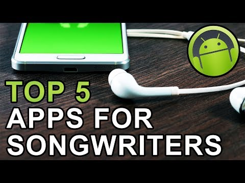 Top 5 Apps for Songwriters on Android