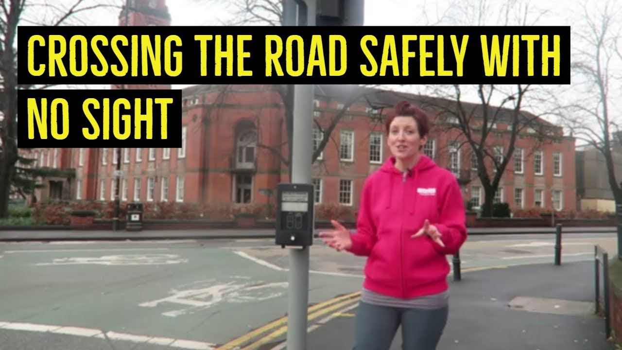 How Do You Cross The Road Safely When You Re Blind Youtube