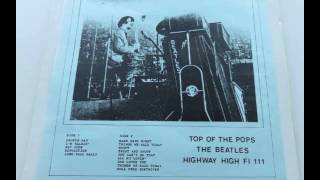 Disco de vinil Raro - The Beatles - Top of the Pops (1 LP ao vivo)