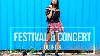 What to wear to a Music Festival & Concert