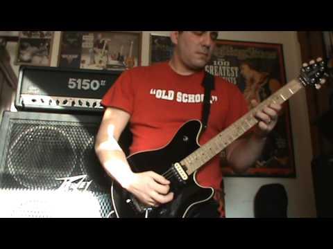 Dance The Night Away (Van Halen Guitar Cover)