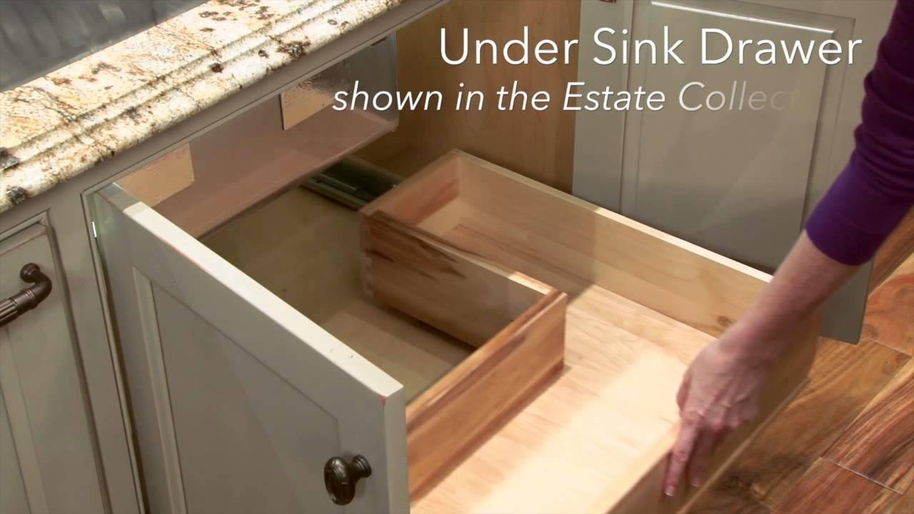 storage solutions under sink drawer