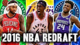 Gambar cover Redrafting The 2016 NBA Draft   Where Will Brandon Ingram Land?