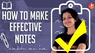 How to make EFFECTIVE Notes   Tips for Neat and Efficient Notes   Prepare Notes for Any Exams