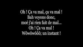 Mes Aieux - Ça va mal Lyrics
