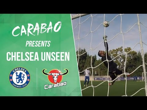 Exclusive GoPro in goal during training | Chelsea Unseen