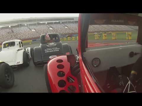 Charlotte Motor Speedway Feature With Big Crash(Zach Miller)
