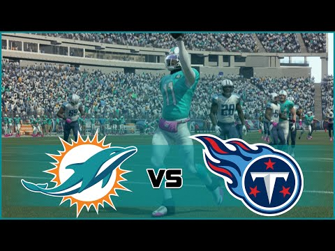 Madden NFL 16 Miami Dolphins Franchise- Year 1 Game 5 at Teneessee Titans