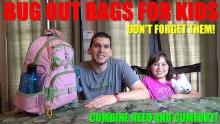 Bug Out Bags for Kids - How to Keep the Little Ones Safe and Comforted