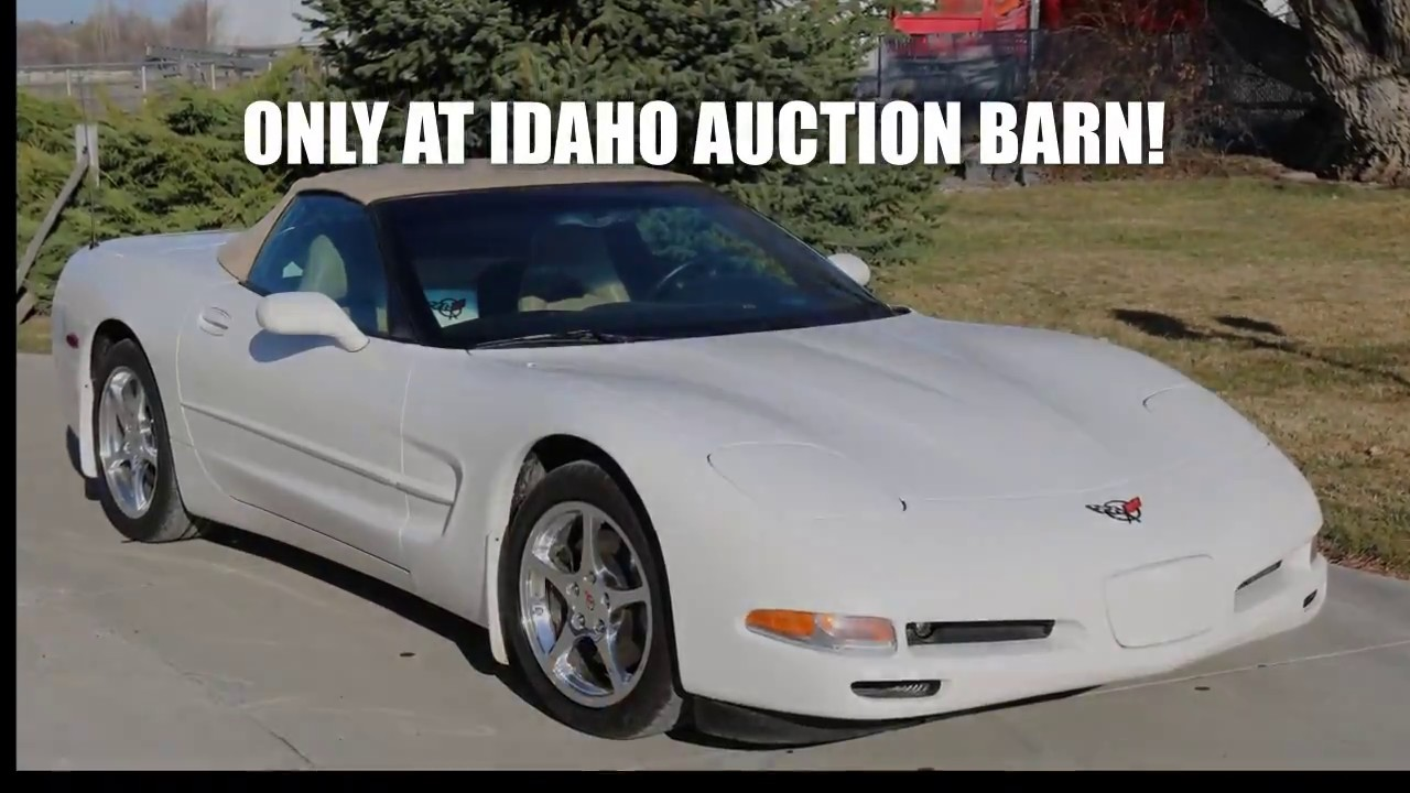 2002 Corvette for sale at Idaho Auction Barn