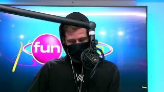 Alan Walker en live sur Fun Radio