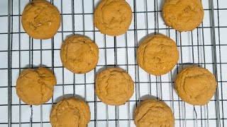 [Baking Vlog] 땅콩버터 쿠키 만들기 pean…